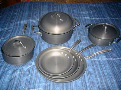Calphalon Hard-Anodized Cookware